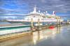 Boudicca in Liverpool (Jeffpmcdonald) Tags: mvboudicca cruiseship fredolsencruiselines liverpool liverpoolcruiselineterminal rivermersey jeffpmcdonald nikond7000 july2017