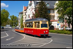 38-2017-04-30-39-Ernst-Thälmann-Straße (steffenhege) Tags: frankfurtoder tram strasenbahn arbeitswagen 38 lowa