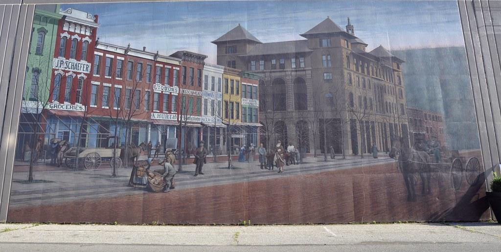 Portsmouth, Ohio (Bob McGilvray Jr.) Tags: Portsmouth Ohio Floodwall Mural  Art