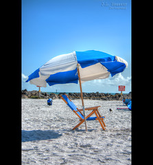 Paradise - Clearwater Beach, Florida (J.L. Ramsaur Photography) Tags: jlrphotography nikond5200 nikon d5200 photography photo clearwaterbeachfl centralflorida pinellascounty florida 2013 engineerswithcameras sandkey photographyforgod thesouth southernphotography screamofthephotographer ibeauty jlramsaurphotography photograph pic beach ocean gulfofmexico water blue clearwaterfl sand waves rocks blueoceanwater tennesseephotographer clearwater paradise umbrella beachumbrella lonebeachchair beachchair hdr worldhdr hdraddicted bracketed photomatix hdrphotomatix hdrvillage hdrworlds hdrimaging hdrrighthererightnow bluesky deepbluesky beautifulsky sky skyabove allskyandclouds wherethemapturnsblue ilovethebeach sign signage it'sasign signssigns iseeasign signcity