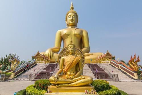 wat muang - ang thong - thailande 16