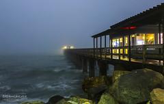 Into the night (Dreamcatcher photos) Tags: pier swakopmund namibia boardwalk sunset rocks ocean dreamcatcherphotos