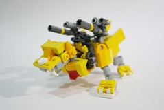 yellowliger04 (chubbybots) Tags: lego mech liger