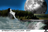 STREGATA DALLA LUNA (ADRIANO ART FOR PASSION) Tags: luna moon cascata waterfall pesci nuvola prigioniera stregata photoshop fotomontaggio photomontage natura wildnature saledellearti collegno esposizione dipinti canadianlandscape modella ragazza girl photoshopcreativo