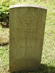 Monmouth Cemetery, Osbaston Road, Monmouth 12 July 2017 (Cold War Warrior) Tags: sergeantcliffordstanleywalters rafvr pilot raf royalairforce ww2 cwgc taphology cemetery graveyard monmouth monmouthshire