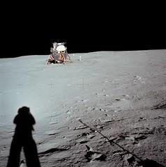 #TBT: Lunar Module at Tranquility Base (NASA's Marshall Space Flight Center) Tags: nasa marshall space flight center msfc history apollo 11 saturn v