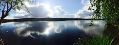 Järvimaisema (Tirsamaa) Tags: this view isojoki pilvi peilaus photo kuva suomi100 suomi finland sun kesä summer lake sky taivas maisema järvi