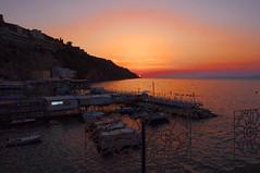 """Sony DSC-R1 -""""Sorrento, Marina Grande""""- (ciro.pane) Tags: sony dsc r1 sorrento marina grande tramonto pace tranquillità mare colori silenzio ricordi italia italy italien italie"""