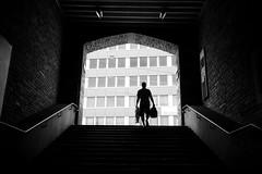 Enge (maekke) Tags: zürich enge 35mm fujifilm x100t streetphotography bw noiretblanc highcontrast urban architecture silhouette ch switzerland humanelement man