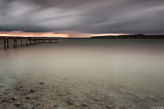 Weitwinkelaussicht (ungesund) Tags: ammersee bayern graufilter nd sommer langzeitbelichtung