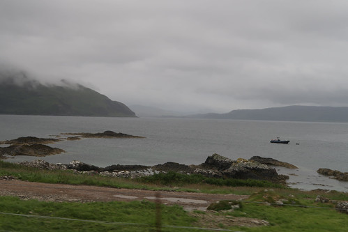 Kilchoan towards Loch Sunart