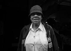 Lady from Brixton (Erwin Vindl) Tags: streetphotography streetportraits streettogs candid blackandwhite monochrome brixton london erwinvindl olympusomd em10markii