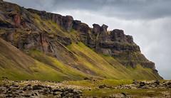 Jagged (Jack Landau) Tags: mountain valley ridge landscape nature iceland jack landau
