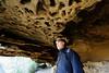 20170709-23-Bluff RIver Gorge cave (Roger T Wong) Tags: 2017 australia bluffrivergorge buckland rogertwong sel1635z sony1635 sonya7ii sonyalpha7ii sonyfe1635mmf4zaosscarlzeissvariotessart sonyilce7m2 tasmania bushwalk caves cliff erosion gorge hike outdoors sandstone tramp trek walk