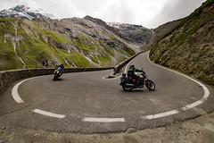 hairpin turn (DeCo2912) Tags: hairpin turn passo dello stelvio stilfser joch italia südtirol alpen alps motobike bike