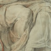 RUBENS (d'Après BUONARROTI Michelangelo) - La Sibylle de Cumes, Chapelle Sixtine (drawing, dessin, disegno-Louvre INV20226) - Detail 79
