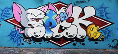 Spek (HBA_JIJO) Tags: streetart urban graffiti animal art france hbajijo wall mur painting letters peinture lettrage lettring writer spray mouse souris bombing hero crazy rat spek cortex paris