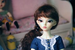 Emily (Marinevirgo) Tags: bjd mnf fairyland rheia normal active body minifee msd makoeyes mako