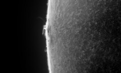 Sun in H-Alpha on 2017-07-17_T_12-42-42-0913_L_lapl4_ap438-AS_P90-ImPPG (Photon_chaser) Tags: sun sunspots solar spicules sunspot spicule sunsunspots stack achromat alpha andover asi astro quark wollensak prominences protuberance protuberances prominence p