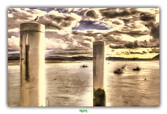 BEAUMARIS HARBOUR (régisa) Tags: wales galles anglesey island île port harbour menai strait detroit tidal waterway deadcandance