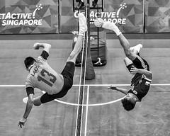 Equal Strength (REVIT PHOTO'S) Tags: superior sepaktakraw strength energy positive motivation quotes hardships aseanschoolgames singaporesepaktakrawfederation