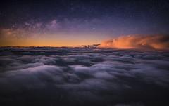 Sea Clouds (Jabamba Photography) Tags: milkyway sky stars starry sunset tramonto dusk clouds nuvole colorful beatiful lovely nice landscape nikon nikkor nikond750 nikonphotography allaperto ngc