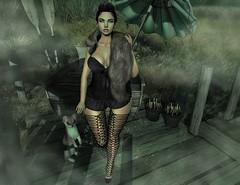 #244 (Zimmimini Brianna) Tags: catwa maitreya epiphany hair fair tchfestival season{story the forge empire foxes