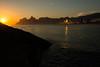 Sunset @Arpoador Beach,Rio de Janeiro,Brazil (José Eduardo Nucci Photography) Tags: sunset landscape riodejaneiro flickr joséeduardonucci southamerica rio450anos arpoadorbeach photography colors nature beach shadows rocks atmosphere leblon ipanema urca peace paradise
