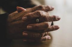 Manos de mi abuela (romigutierrez) Tags: grandma hands blessed ring wrinkles