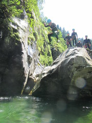 IMG_1820 (Mountain Sports Alpinschule) Tags: mountain sports zillertal canyoning blue lagoon