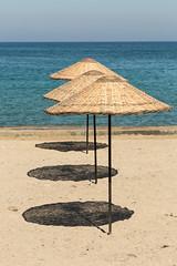 Vision 365 #191 (delikizinyeri) Tags: beach kusadasi shadows turkey umbrellas vision365