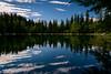 Le Lac Vert (Frédéric Pactat) Tags: nikon d750 afs ed fx d 750 20 mm f 18 f18 nikkor 20mm f18g lac vert haute savoie hautesavoie mountains montagne montblanc mont blanc reflection trees clouds mirror nature green blue lake morning light