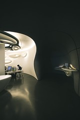(stepfromshadow) Tags: nopeople interiordesign interiors interior indoors wideangle dark shadow light moderndesign design modernarchitecture modern roccagallery gallery rocca