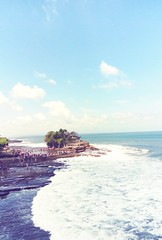 Tanal lot temple. Bali (themilkyway_hm) Tags: trip travel landscape sea tanahlot temple bali indonesia wave 7dwf
