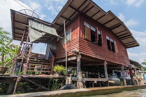 marche fottant damnoen saduak - thailande 44