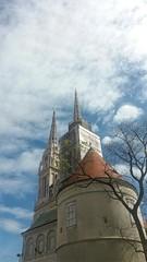 20170408_110445 (hyacinth314) Tags: zagreb croatia cathedral church kaptol architecture samsunggalaxyj5 samsungj5 mobilephonephotography mobilephonephoto
