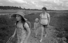 Scan-170729-0022 (Oleg Green (lost)) Tags: family kids summer river walk bessat voigtlander sskopar 4025 film ww fomapan 400 rodinal rangefinder