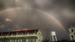 一道彩紅 A Rainbow (葉 正道 Ben(busy)) Tags: rainbow taichung taiwan