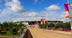 The London Stadium (Roy Richard Llowarch) Tags: londonstadium thelondonstadium iaafworldchampionships theiaafworldchampionships iaafworldchampionships2017 theiaafworldchampionships2017 sports sportstadiums athletics olympic olympics olympicstadium londonolympicstadium stadiums footballstadiums athleticstadiums london londonengland stratford summer summertime sunshine sunny sun clouds england greatbritain sporting royllowarch royrichardllowarch llowarch cloud blueskies bluesky greaterlondon newham parks park travel travelling weekend trips daytrips places outdoor outside space spaces 2017