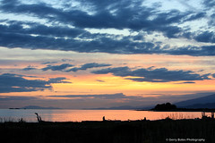 Iona sunset (gerry.bates) Tags: nature beach ionabeach shore vanvcouver bc canada canon sunset ocean sea sky couds seascape landscape water