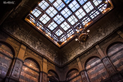 The Great Hall (marksmorton) Tags: yorkshire grand architecture love window chandelier townhall mansion country marble lighting contrasts victorian