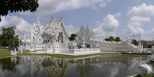 Wat Rong Khun, el Templo Blanco de Chiang Rai, Tailandia