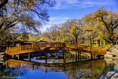 Jardin du Palais de la Paix Universelle 3 (TravelerRauni) Tags: architecture asie chine ciel continentsetpays montagne nature parc paysage pont riviere