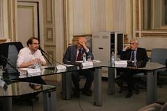 EOS_3891 David Held, Piero Bassetti e Alberto Martinelli (Fondazione Giannino Bassetti) Tags: milano politica seminari responsabilità globalizzazione storia etica migrazioni stato governance innovazione digitalizzazione internet