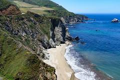 Pacific Coast Highway (Ron Scubadiver's Wild Life) Tags: landscape coastal sea sky nikon 24120 bigsur california beach mountains