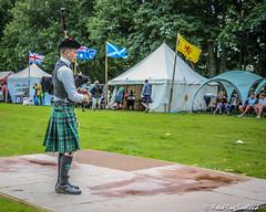 Solo Piper (FotoFling Scotland) Tags: lochearnheadhighlandgames piper bagpipe kilt fotoflingscotland