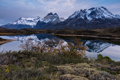 Morning at Lago Nordenskjold (chasingthelight10) Tags: events photography travel landscapes forests countryside glacialvalley lakes mountains nature sunrise places chile lagonordenskjold