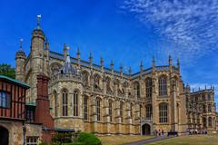 St. George's Chapel, Windsor Castle (J. Achrainer) Tags: canoneos6d ef2470mmf4lisusm london staedteundorte windsor stgeorgkapelle hufeisenkloster horseshoecloister schloss kapelle
