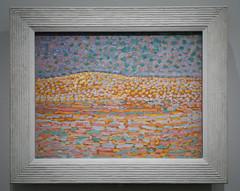 Étude d'une pointilliste, crête à gauche - Piet Mondrian 1909 (Monceau) Tags: étudedunepointillistecrêteàgauche pietmodrian tokyoparis chefsd'œuvre du bridgestone museum artexhibitionpaintingmusée de lorangerie paris