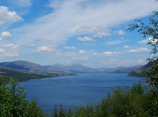 Loch Carron Viewpoint, West Highlands of Scotland, May 2017